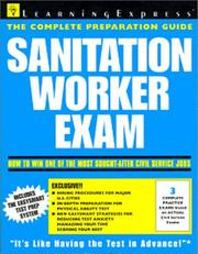 Cover of: Sanitation Worker Exam | LearningExpress Editors