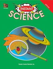 Cover of: Instant Science | JULIA JASMINE