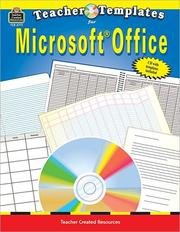 Cover of: Teacher Templates for Microsoft Office¨