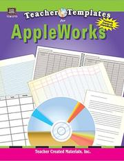 Cover of: Teacher Templates for AppleWorks¨ (ClarisWorks¨ )