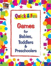 Cover of: Quick & Fun Games/Babies/Tod/Presc | TEACHER CREATED RESOURCES
