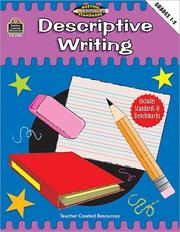 Cover of: Descriptive Writing, Grades 1-2 (Meeting Writing Standards Series)