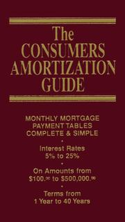 Cover of: Amortization Guide