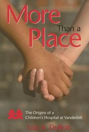 Cover of: More Than a Place