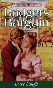 Cover of: Bridget's Bargain (Heartsong Presents #227)