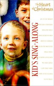 Cover of: Kid's Sing-A-Long Cassette (The Heart of Christmas)