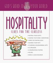 Cover of: Hospitality Clues for the Clueless | Elwood Smith