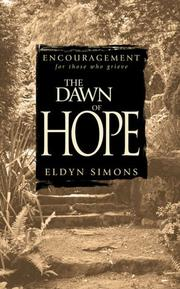 Cover of: The Dawn of Hope