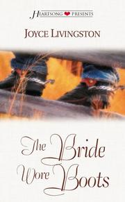 Cover of: The Bride Wore Boots (Heartsong Presents #382)