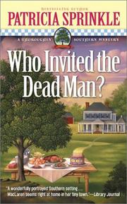 Cover of: Who invited the dead man?