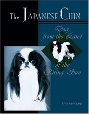 Cover of: The Japanese Chin