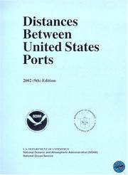 Cover of: Distances Between United States Ports