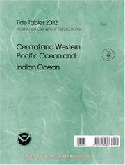 Cover of: 2007 Central & Western Pacific and Indian Ocean Tide Tables | NOAA
