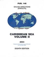 Cover of: PUB 148 Sailing Directions