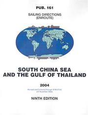 Cover of: Pub161, 2004 Sailing Directions