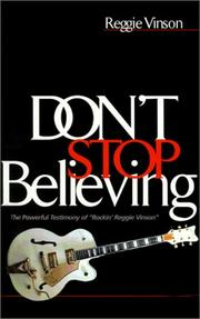 Cover of: Don't Stop Believing