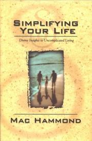 Cover of: Simplify Your Life