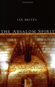 Cover of: The Absalom Spirit