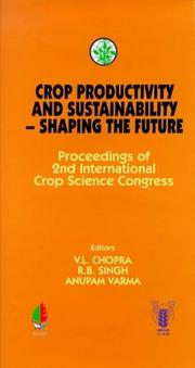 Cover of: Crop Productivity and Sustainability | V. L. Chopra