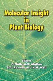Cover of: Molecular Insight in Plant Biology
