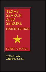 Cover of: Texas Search and Seizure
