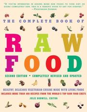 Cover of: The Complete Book of Raw Food