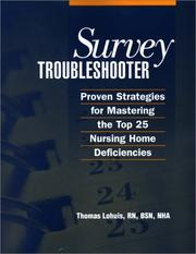 Cover of: Survey Troubleshooter