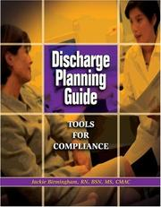Cover of: Discharge Planning Guide | Jackie Birmingham
