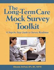 Cover of: The Long-term Care Mock Survey Toolkit
