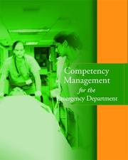 Cover of: Competency Management for the Emergency Department