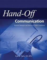 Cover of: Hand-off Communication