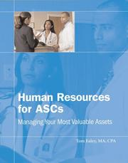 Cover of: Human Resources for ASCs | Tom Ealey