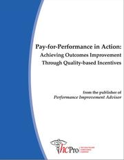 Cover of: Pay for Performance in Action |