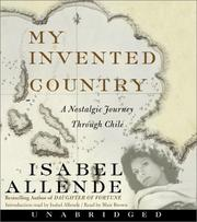 Cover of: My Invented Country CD: A Nostalgic Journey Through Chile