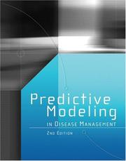 Cover of: Predictive Modeling in Disease Management | Inc. HCPro