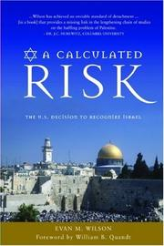 Cover of: A Calculated Risk | Evan M. Wilson