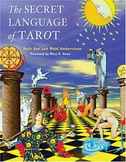 Cover of: The Secret Language of Tarot | Ruth Ann Amberstone