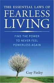 Cover of: The essential laws of fearless living