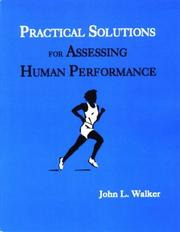 Cover of: Practical Solutions for Assessing Human Performance