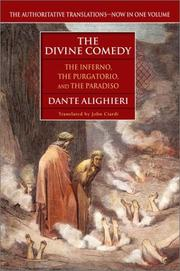 Cover of: Divina commedia