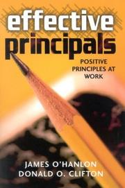 Cover of: Effective Principals