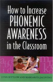 Cover of: How to Increase Phonemic Awareness In the Classroom