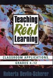 Cover of: Teaching for Real Learning