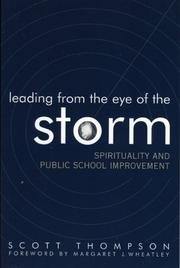 Cover of: Leading from the Eye of the Storm