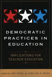 Cover of: Democratic Practices in Education