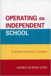 Cover of: Operating an Independent School