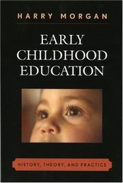 Cover of: Early Childhood Education | Harry Morgan