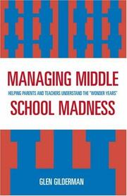 Cover of: Managing Middle School Madness