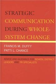 Cover of: Strategic Communication During Whole-System Change