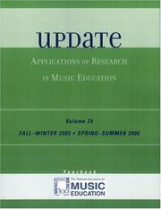 Cover of: Update | MENC: The National Association for Music Education